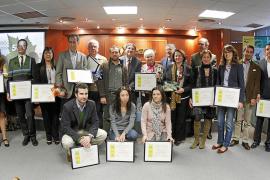 CAEB premia la gestión medioambiental de Melchor Mascaró, Adalmo y Fundación 02