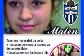El Atlètic Balears saltará al campo apoyando a la familia de Malén Ortiz