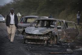 Decenas de muertos en Kenia por la explosión de un camión cisterna