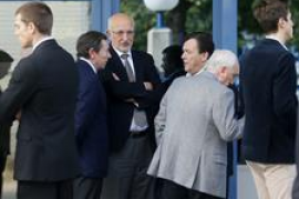 Multitudinario adiós en Alicante a la viuda del expresidente de la CAM