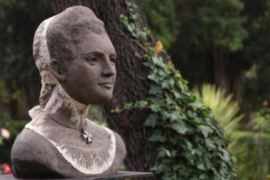Catalina Homar ya tiene su busto en Valldemosa