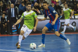 El Palma Futsal cae en la pista del Barcelona y suma su tercera derrota seguida
