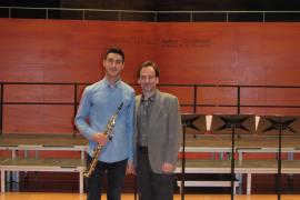 El alumno del Conservatorio Baleares Pablo de la Fuente, premiado en el Certamen Nacional de Interpretación