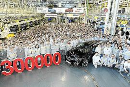 Renault Palencia produce 300.000 coches en un año