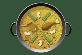El icono de la paella ya está disponible para los servicios de mensajería