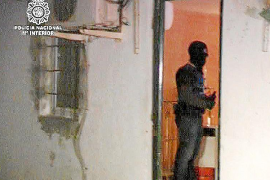 Los fotogramas del golpe a Son Banya