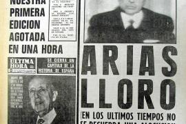 DIARIOS DE PALMA EL DIA DE LA MUERTE DEL GENERALISIMO FRANCISCO FRANCO DE 20-11-1975