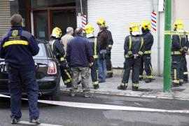 Una bolsa de gas metano en un sótano obliga al desalojo de dos edificios en Palma