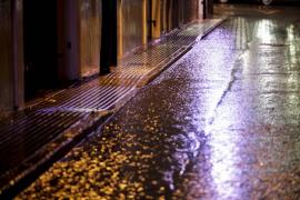 La lluvia que se registró ayer en Ibiza dejó más de 26 litros por metro cuadrado