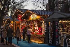 Un niño de 12 años, detenido por intentar estallar una bomba en un mercado navideño en Alemania