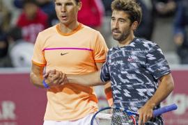 Rafael Nadal y Marc López, campeones de España tras una reñida final en Manacor