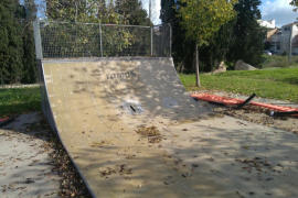 Ciudadanos denuncia el «lamentable estado» del 'skatepark' de Inca y pide su «inmediata rehabilitación»