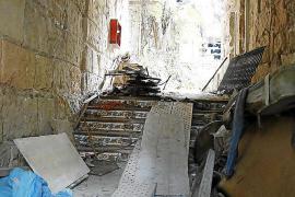 Cort ordena asegurar el edificio de la sala Asai ante el peligro de derrumbe