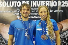 Balears revienta el medallero en el Campeonato de España de Natación