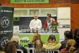 'Showcooking' de cocina navideña con Oli de Mallorca