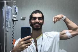 Pablo Ráez, el joven que hizo viral su lucha contra leucemia, anuncia que recibirá el alta