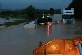 Alerta naranja por las lluvias y el viento en Mallorca
