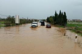 Las imágenes del temporal en Mallorca