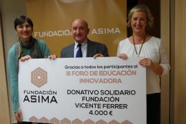 La Fundación ASIMA entrega un donativo de 4.000 euros para los niños de la India