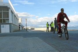 El nuevo paseo de Can Picafort tendrá un carril bici de dos metros de ancho