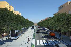 El pleno de Cort exige la paralización inmediata del proyecto del tranvía