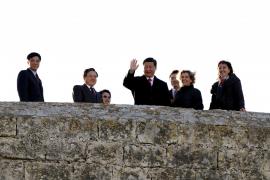 VISITA DEL VICEPRESIDENTE DE LA REPUBLICA CHINA AL Castell de Bellver.