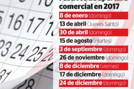 Diciembre será el mes de 2017 con más festivos de apertura comercial