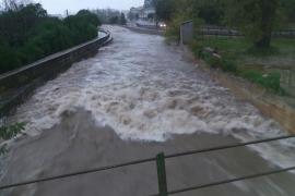 Baleares registra 21 incidentes durante las primeras horas del miércoles por las tormentas