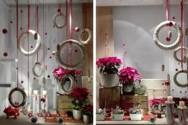La floristería Sa Morera consigue el primer premio en el concurso de escaparates de Navidad de Manacor