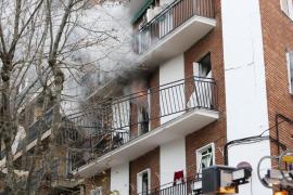 Siete personas resultan heridas en una explosión por una fuga de gas