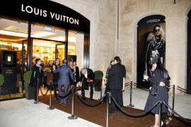 La firma Louis Vuitton abre su primera tienda en Palma