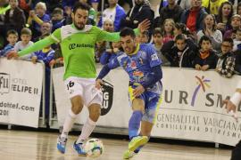 El Palma Futsal no encuentra el camino de la victoria