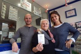 La casualidad premia a la madre del lotero de Can Picafort