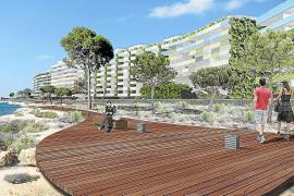 Un nuevo paseo peatonal conectará Santa Ponça y es Castellot por el litoral