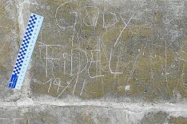Cazados tras hacer inscripciones en el Castell de Bellver