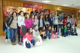 Alumnes de l'IES Santa Margalida visitaren l'Iberostar Estadi i Grup Serra