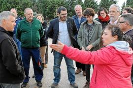 Los agricultores de sa Pobla exigen a Vidal que se limpie el torrente de Muro