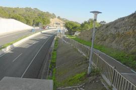 Avances para la recepción del tramo del Passeig de Calvià hasta Peguera