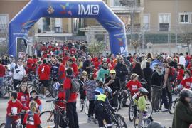 Los ciclistas toman Palma