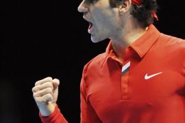 Federer, primer clasificado para las semifinales del Torneo de Maestros