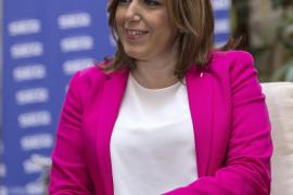 Díaz no contempla que el PSOE apoye los Presupuestos y recomienda a Rajoy buscar apoyo