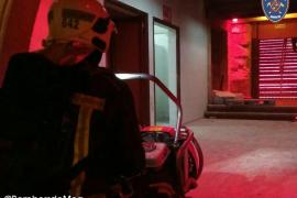 Desalojan una fiesta en un local de Marratxí por un incendio intencionado