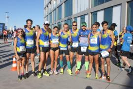 La carrera urbana Rafa Nadal Sports recauda 3.700 euros para Aproscom