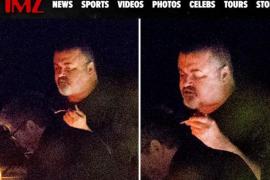 La irreconocible imagen de George Michael en sus últimos meses