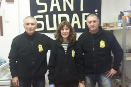 Sant Sudari de Sóller reparte mil kilos de alimentos por Navidad