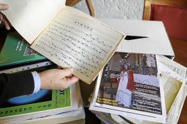 Joan Parets dona al Arxiu de la Seu su fondo sobre 'La Sibil·la'