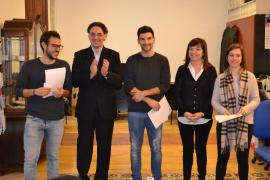Pedro Quetglas, Rafel Perelló y Marina Melis, mejores estudiantes universitarios de Manacor