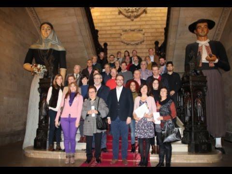 Homenaje a los funcionarios del Ajuntament de Palma jubilados este año