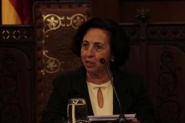La historiadora Maria Barceló recrea la Palma de Ramon Llull en su pregón por la Festa de l'Estendard