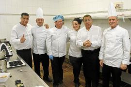 Los Chunguitos, en la cocina